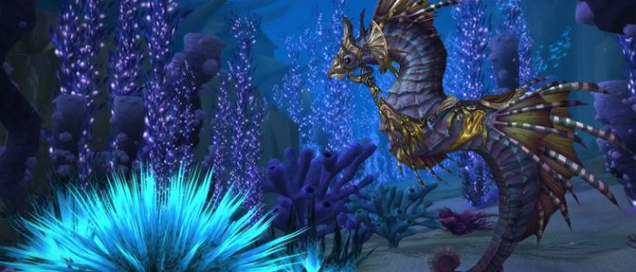 Vashj'ir Seahorse Ready To Go Whenever