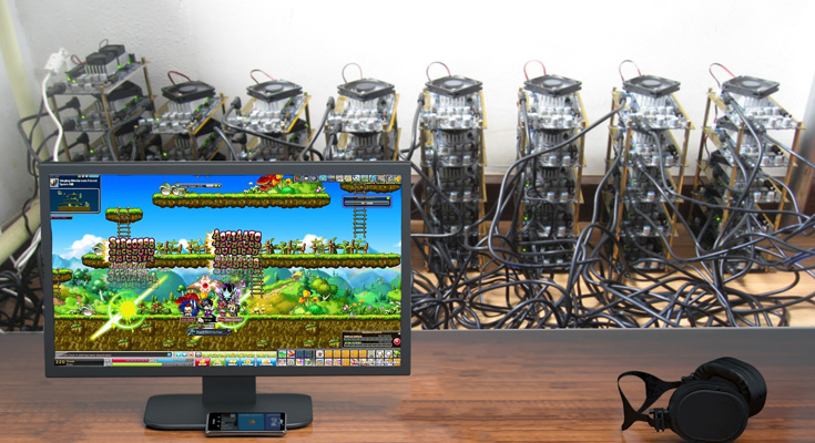 Bitcoin Mining Rig Playing The Shit Out Of Maplestory – Nerfwire
