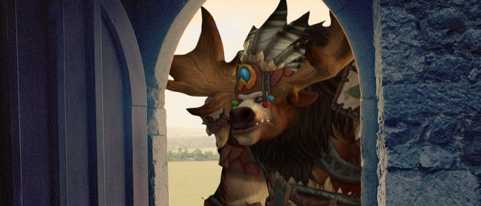 Highmountain Tauren Keeps Getting Stuck In Doorways