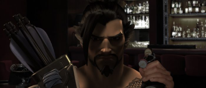 "Hanzo Shimada Seen Alone In Bar Whispering ""Simple Geometry"" To Himself"