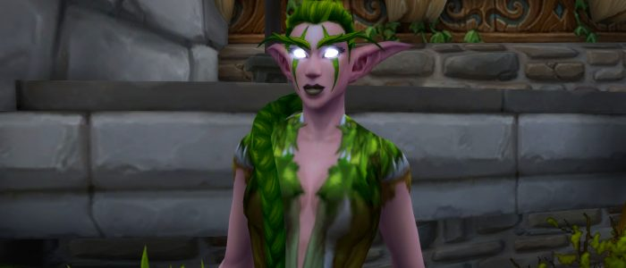 Druid Pretty Sure Herbalism Trainer Describing Marijuana