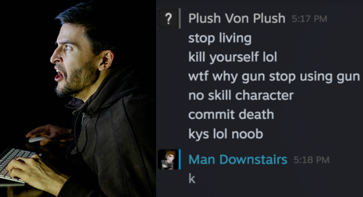 """Casual Players Are Ruining This Game"" Claims Guy Who Regularly Tells People to Kill Themselves"