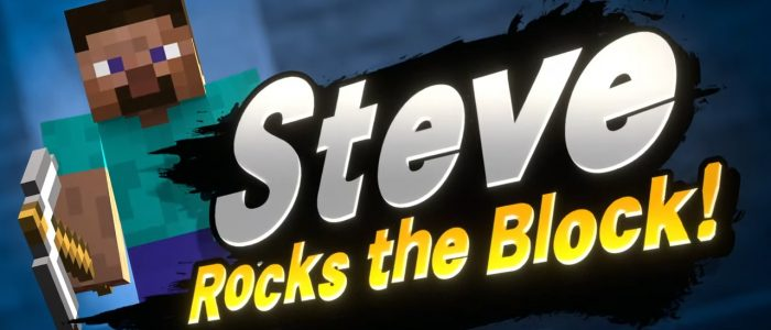 Minecraft's Steve To Make It Even Easier To Hit Block Button On Smash Players