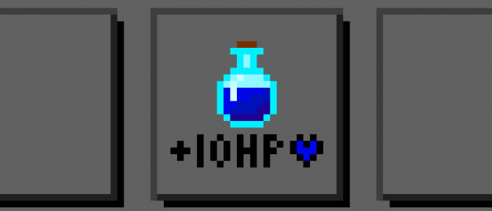 Just To Mix It Up, Health Potion Blue