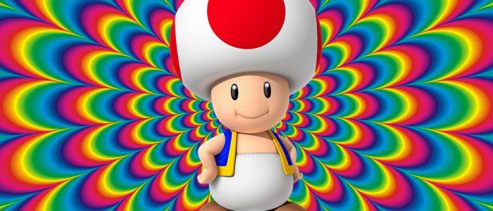 Nintendo Confirms Toad Is Psilocybin