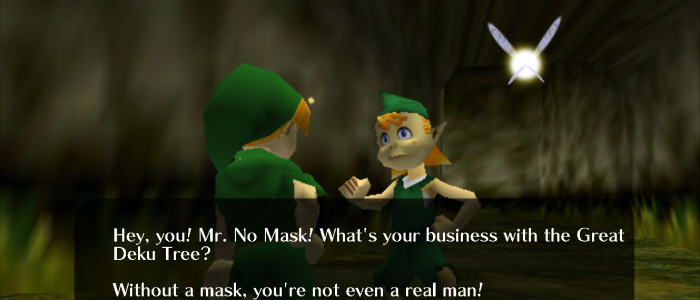 Mido Now Requires Face Mask Before Meeting Great Deku Tree