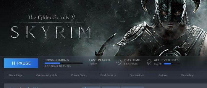 Skyrim Installed Again